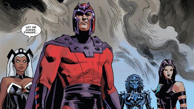 Magneto, Mariposa Mental Peligro y Tormenta