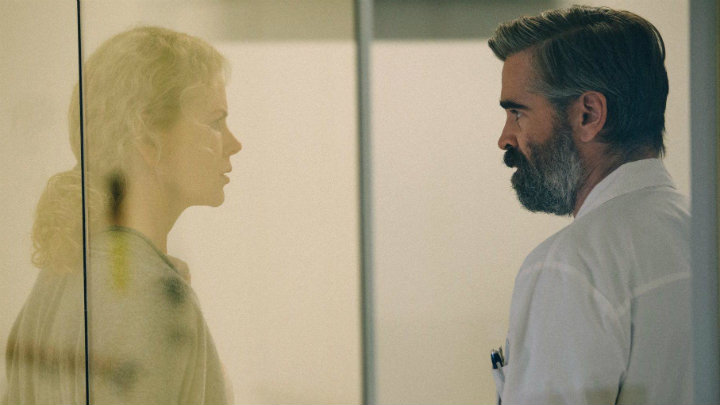 Colin Farrell y Nicole Kidman