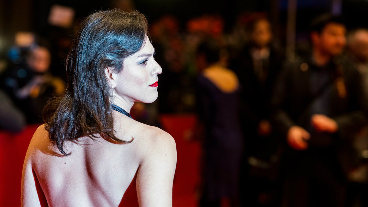 Daniela Vega en la alfombra roja la pasada Berlinale