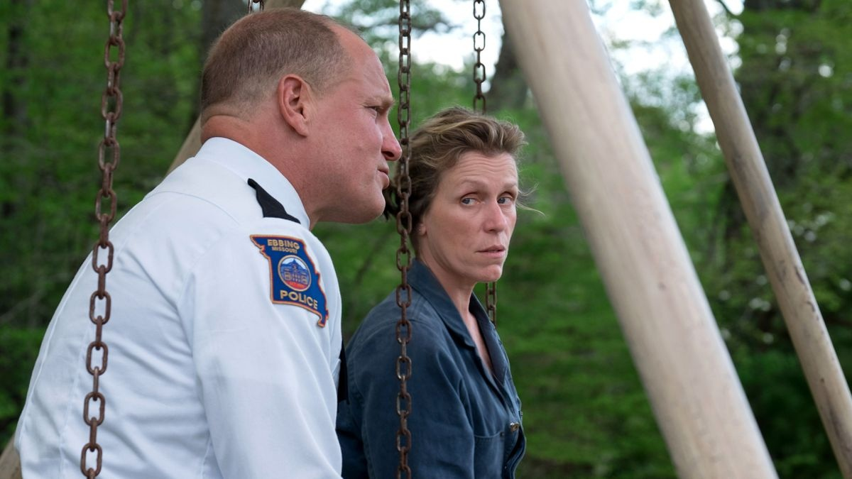 Woody Harrelson y Frances MacDormand
