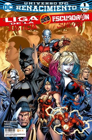 Liga de la Justicia Contra Escuadrón Suicida #1