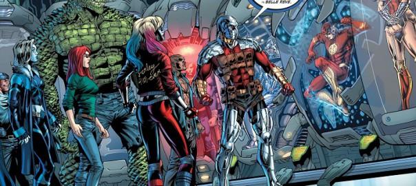 Liga de la Justicia Contra Escuadrón Suicida #2