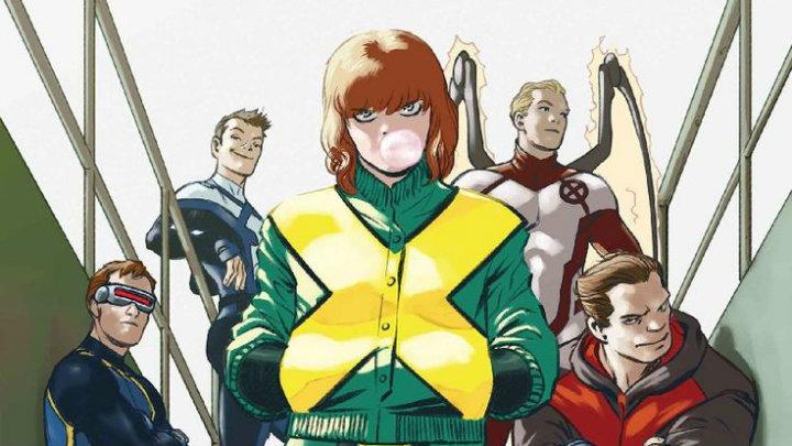 Jean Grey y la Patrulla-X
