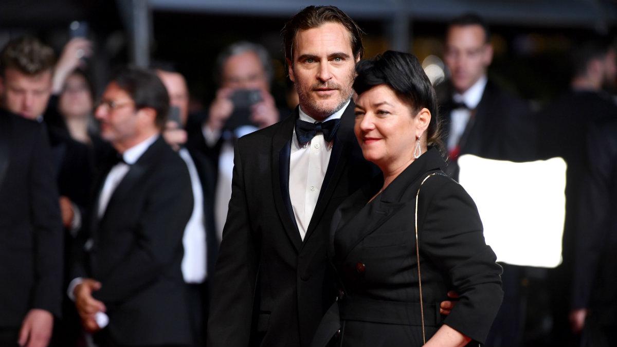 La directora Lynne Ramsay y el actor Joaquin Phoenix en el pasado Festival de Cannes