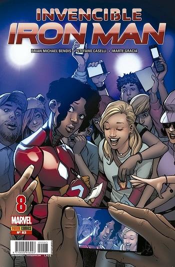 Invencible Iron Man #83