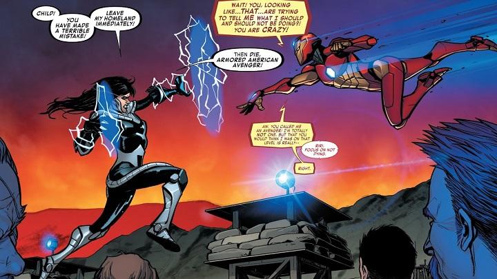 Invencible Iron Man #84
