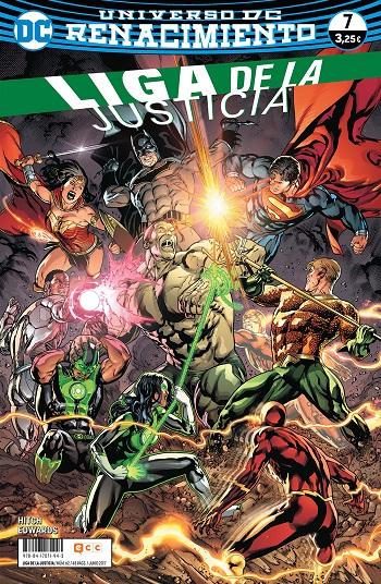 Liga de la Justicia: Renacimiento #7
