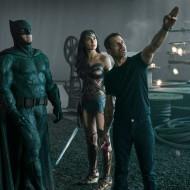 Zack Snyder, Gal Gadot y Ben Affleck