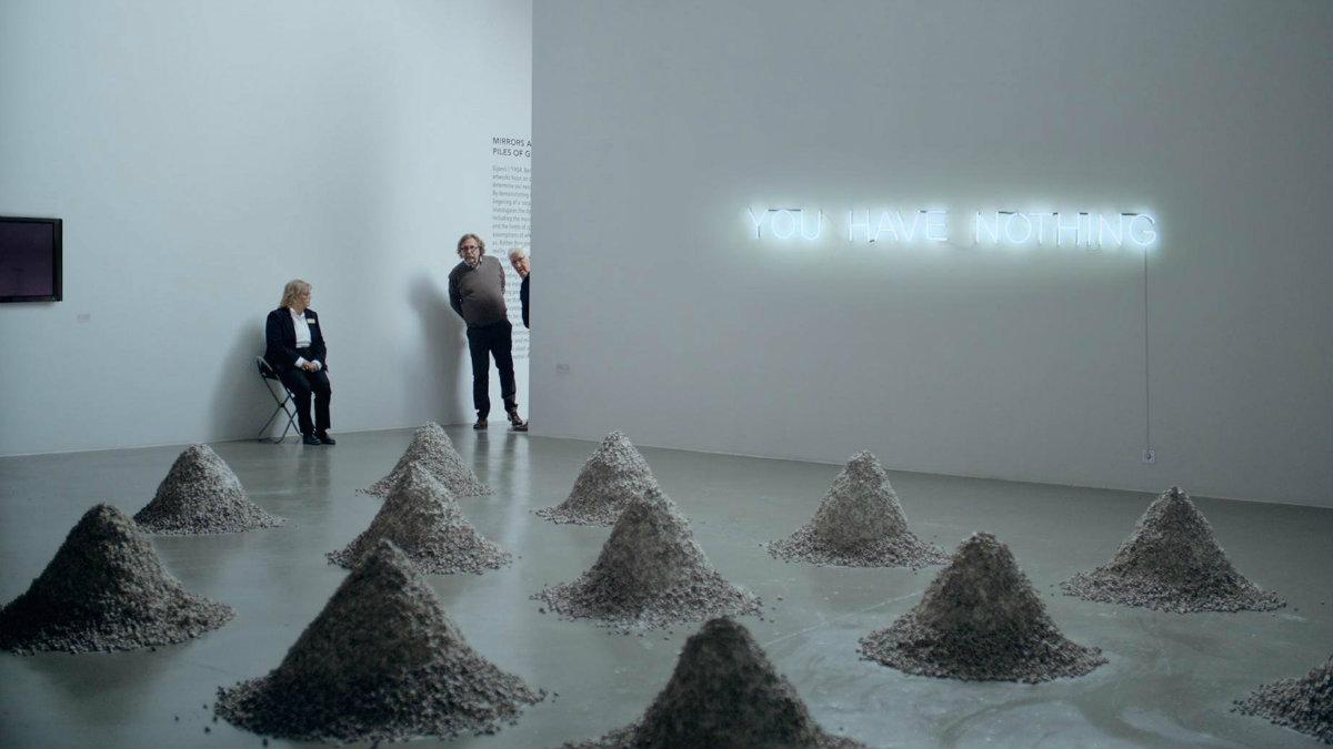 Fotograma de 'The Square' donde Östlund demuestra su dominio del humor inteligente