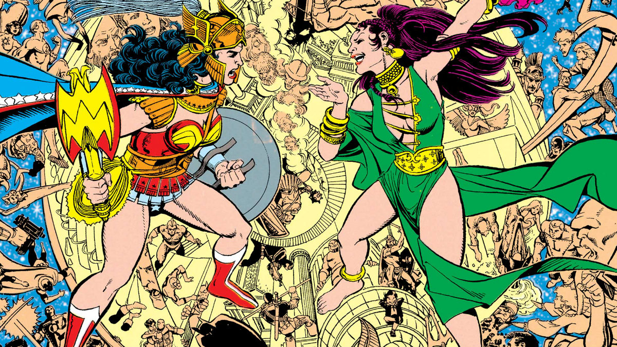 Wonder Woman y Circe