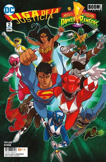 Liga de la Justicia / Power Rangers #2