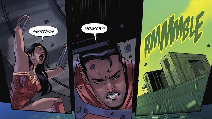 Liga de la Justicia / Power Rangers #4