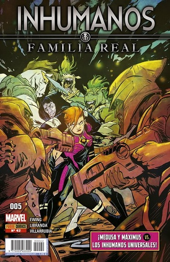 Inhumanos: Familia Real #42