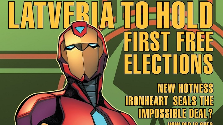 Invencible Iron Man #85 (#10)