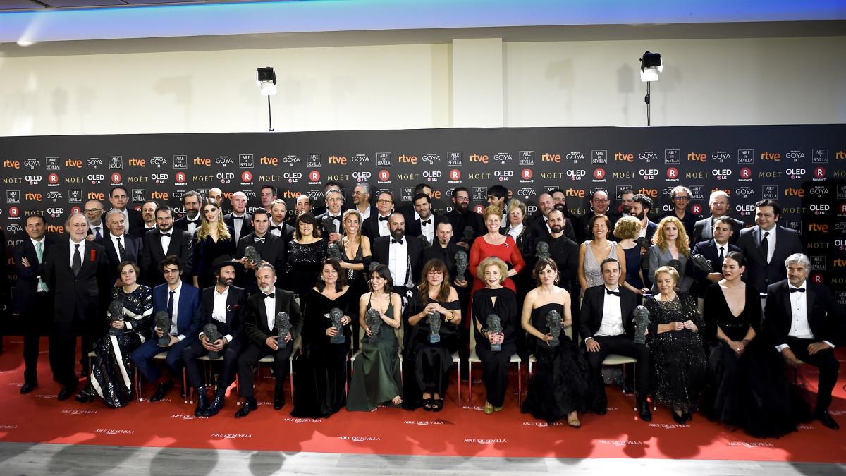 Ganadores Goya 2018