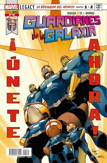 Guardianes de la Galaxia #61