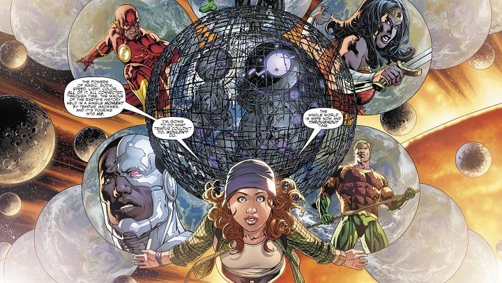 Liga de la Justicia: Renacimiento #11