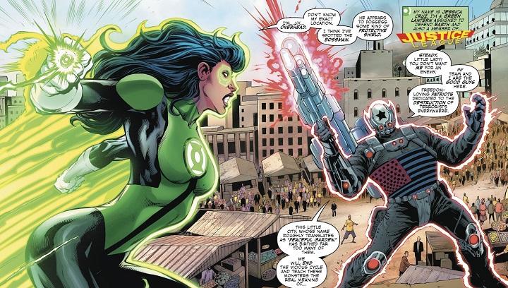 Liga de la Justicia: Renacimiento #13