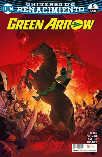 Green Arrow: Renacimiento #5