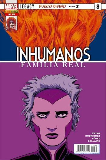 Inhumanos: Familia Real #45 (#8)