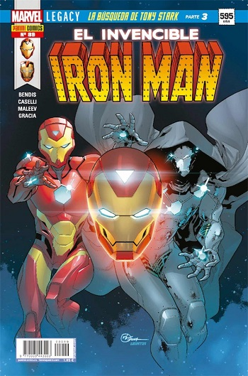 EL Invencible Iron Man #89