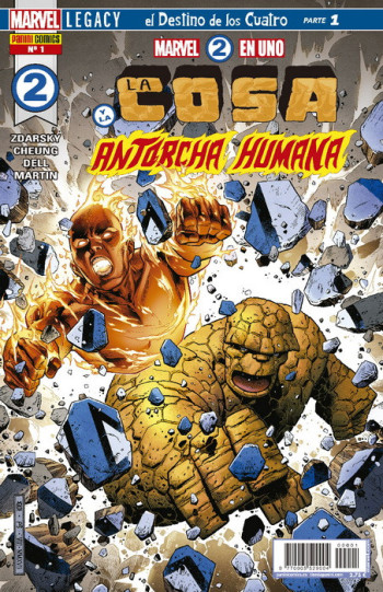 Marvel 2 en Uno: La Cosa y la Antorcha Humana