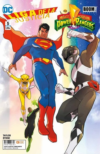 Liga de la Justicia / Power Rangers #5