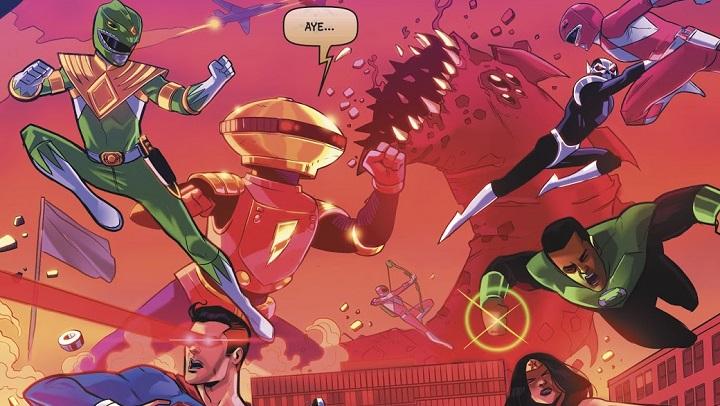 Liga de la Justicia / Power Rangers #6