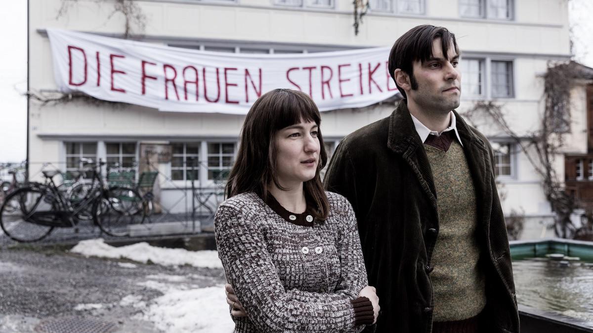 Marie Leuenberger y Maximilian Simonischek