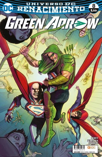Green Arrow: Renacimiento #8