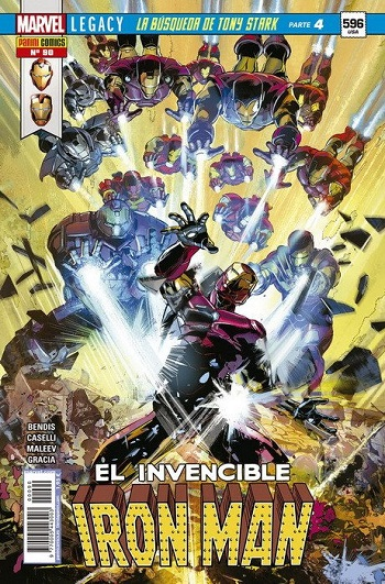 El Invencible Iron Man #90