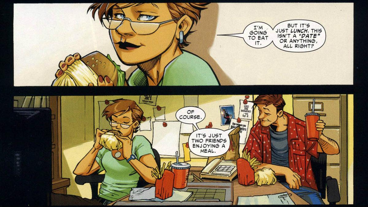 Carlie Cooper y Peter Parker
