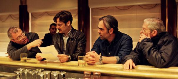 Daniel Monzón, Rodrigo de la Serna, Luis Tosar y Joan Pera