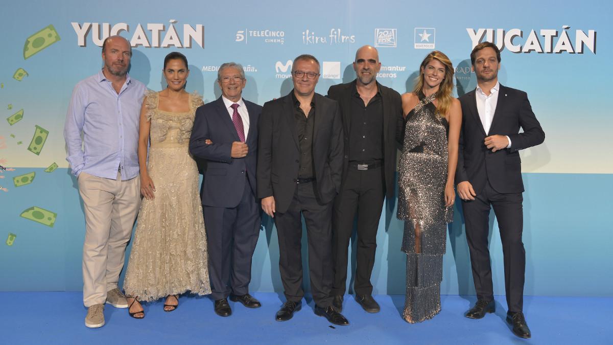 Jorge Guerricaechevarría, Juana Acosta, Joan Pera, Daniel Monzón, Luis Tosar, Stephanie Cayo y Rodrigo de la Serna