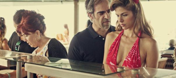 Luis Tosar y Stephanie Cayo