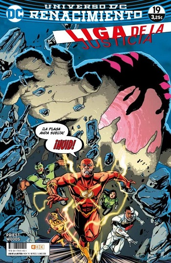 Liga de la Justicia: Renacimiento #19