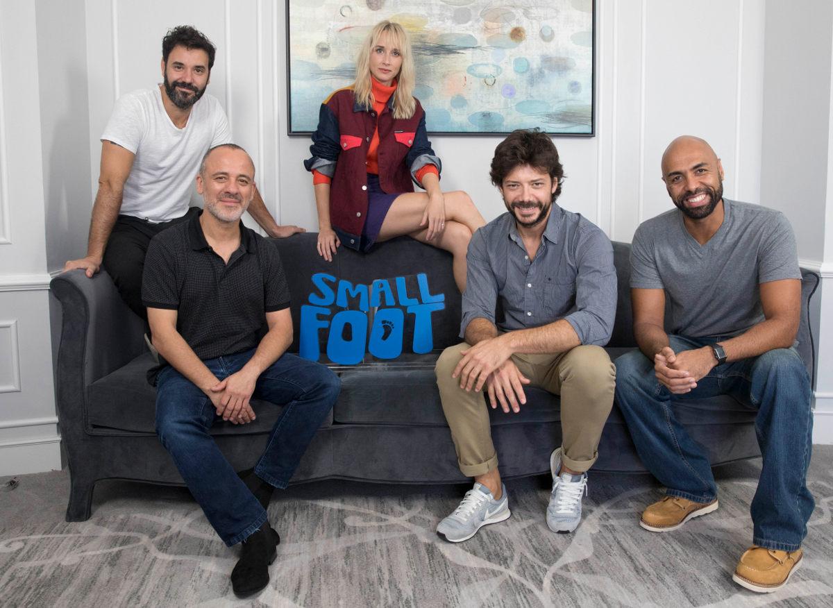 Miquel Fernández, Ingrid García-Jonsson, Javier Gutiérrez, Álvaro Morte y El Chojin