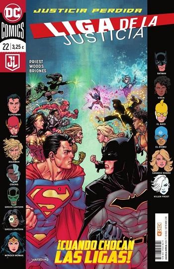 Liga de la Justicia #22