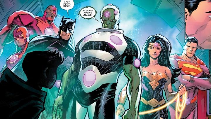 Liga de la Justicia: Sin Justicia #1