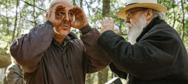 Roberto Álamo y José Luis Cuerda