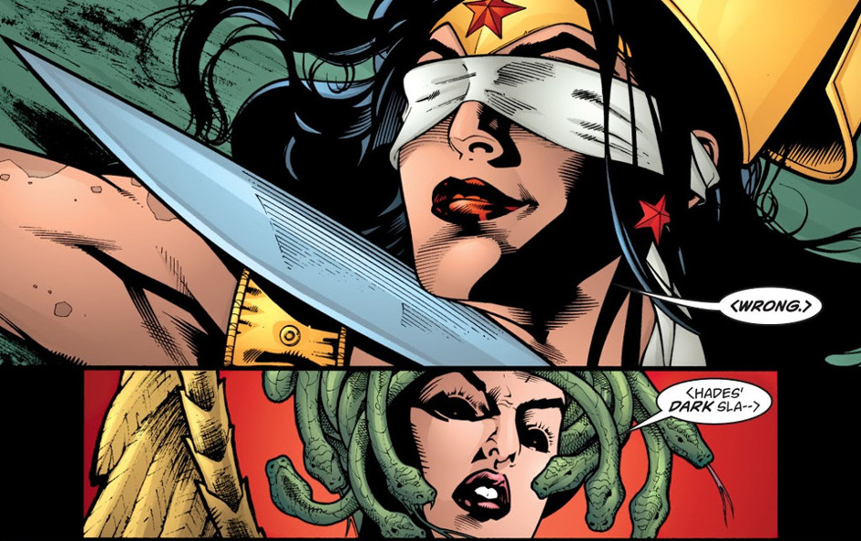 Medusa y Wonder Woman