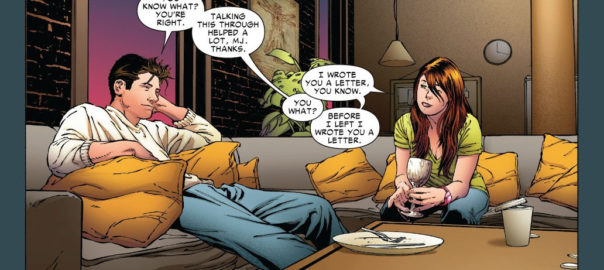 Peter Parker y Mary Jane Watson