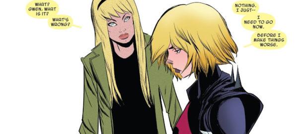 Spider-Gwen y Gwen Stacy
