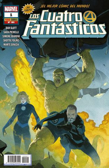 Los Cuatro Fantásticos #1