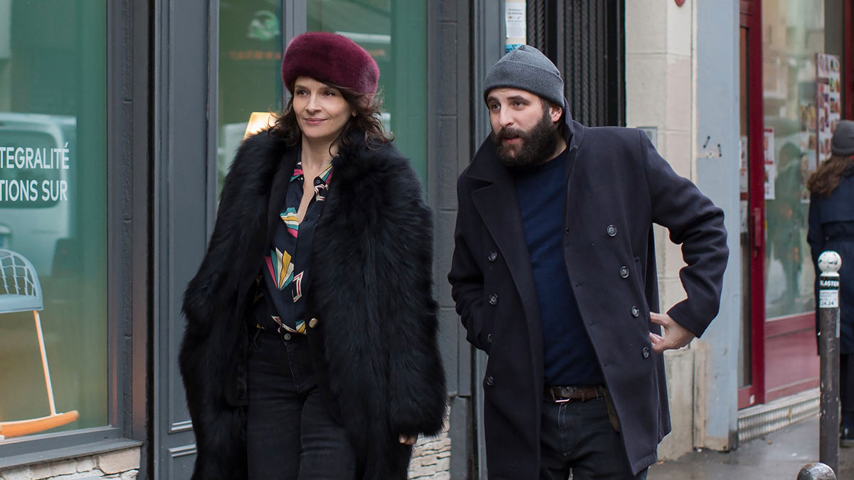 Juliette Binoche y Vincent Macaigne
