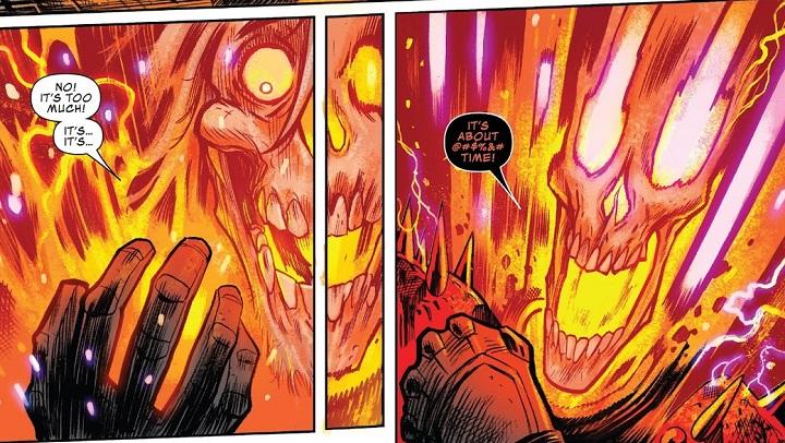 Motorista Fantasma Cósmico: El Bebé Thanos Debe Morir