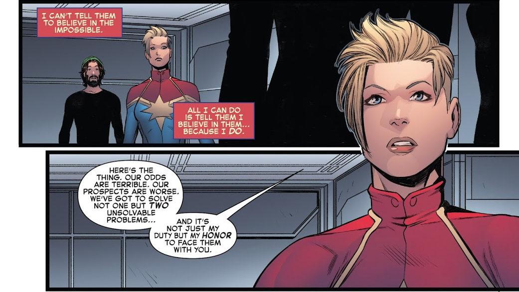 La poderosa Capitana Marvel