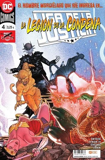 Liga de la Justicia: Nueva Justicia #4