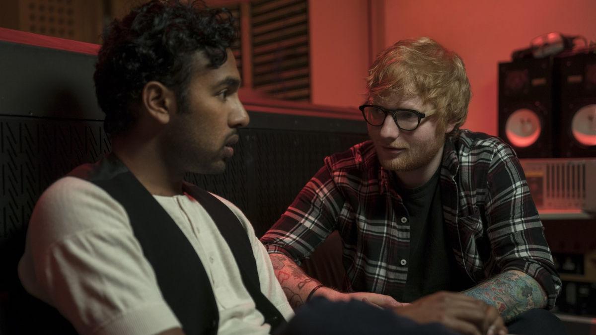 Himesh Patel y Ed Sheeran