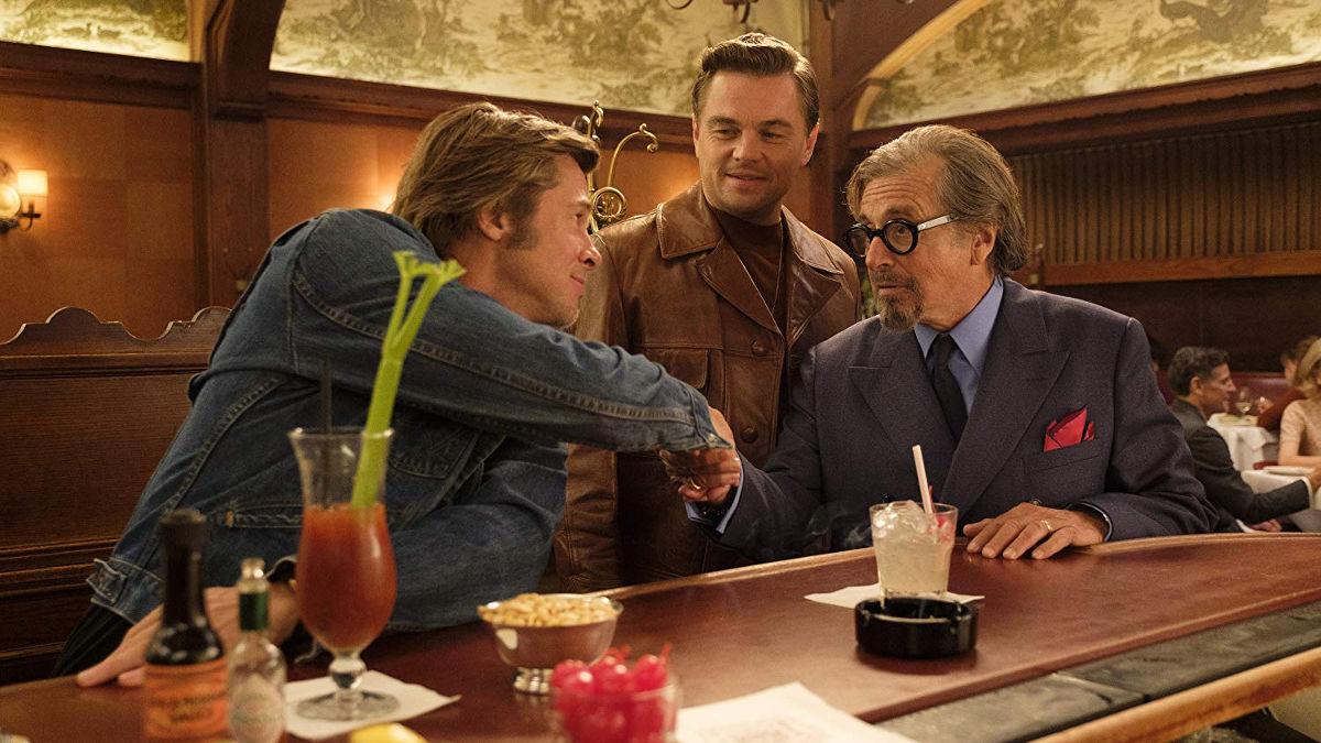 Brad Piit, Leonardo DiCaprio y Al Pacino